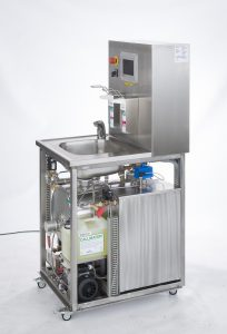 Waste water disinfector